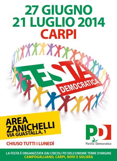 quality design f3773 b4a95 Festa Pd: Il saluto di Simone Morelli coordinatore Pd Terre ...